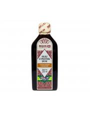 Olej z pestek dyni tłoczony tradycyjnie, nieoczyszczony BIQOIL 250ml