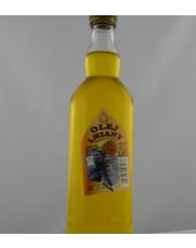 olej lniany tłoczony na zimno 0,5 l