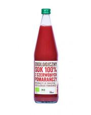 BIO SOK Z CZERWONYCH POMARAŃCZY 100% 750 ml EkoWital