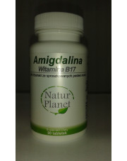 AMIGDALINA - 98% ekstrakt z pestek moreli (witamina B17) (90 tabletek)