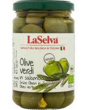 BIO oliwki zielone w zalewie 310g LaSelva