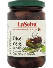 BIO czarne oliwki w zalewie 310g LaSelva