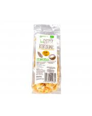 BIO Chipsy kokosowe SŁODKI DYM 40g Papagrin
