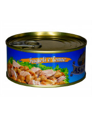 Tuńczyk z fasolą - gotowe danie 160 g