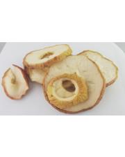 Jabłka suszone polskie - miękkie krążki ze skórką