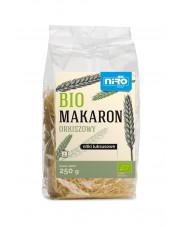 BIO biały makaron orkiszowy  NITKI LUKSUSOWE 250 g