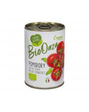BIO całe pomidory bez skórki 400g