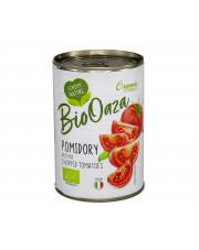 BIO pomidory krojone bez skórki 400g