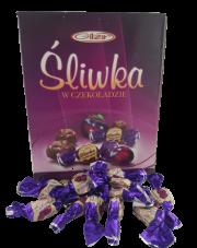 Śliwki w czekoladzie deserowej luksusowe