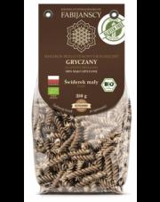 BIO Bezglutenowy makaron GRYCZANY - ŚWIDERKI  250 g