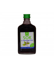 Sok z czarnego bzu 200ml bez dodatków cukru i konserwantów