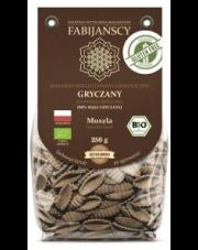 BIO Bezglutenowy makaron GRYCZANY - MUSZLA 250 g