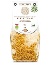 BIO Bezglutenowy makaron KUKURYDZIANY - NITKA 250 g